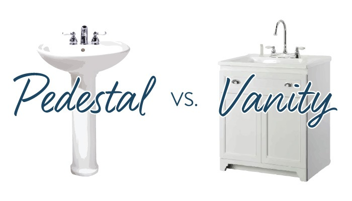 Pedestal Sink Vs Vanity Which Is