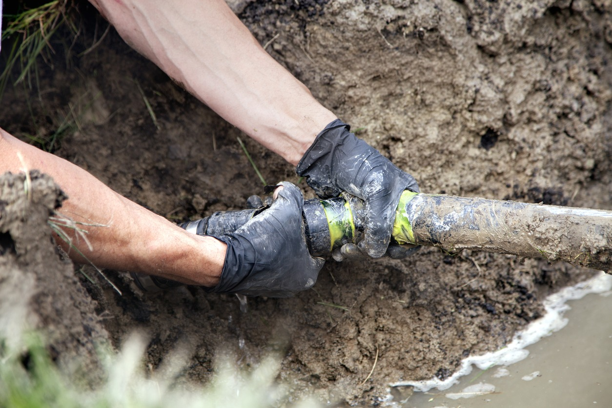 sewer pipe repair